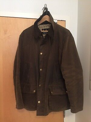 BARBOUR BEDALE Jacket Men's XL EX COND + Wax Thornproof Dressing