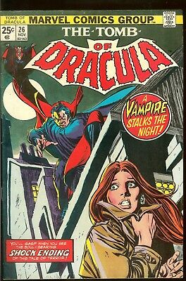 The Tomb Of Dracula 6 Issues #26 27 28 29 30 31 1972 Gene Colan