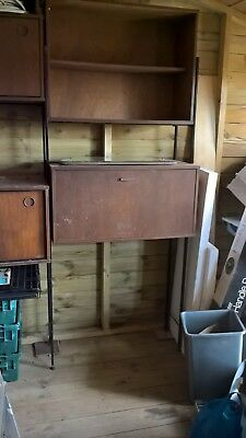 Vintage, 1960's Teal/metal Shelving/display Unit By Avalon. Very Collectable.