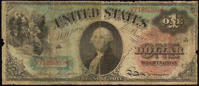 1869 $1 DOLLAR BILL UNITED STATES LEGAL TENDER US CURRENCY RAINBOW NOTE Fr 18