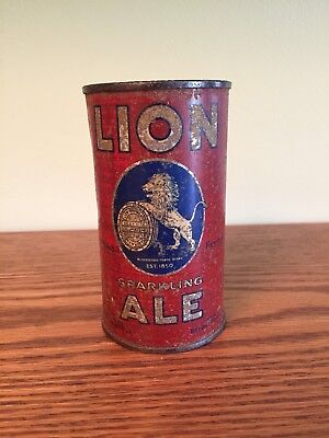 Lion Sparkling Ale (OI) Flat Top Beer Can, New York City, NY