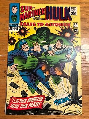 Tales To Astonish 83 Solid Near Mint Condition. Kirby Art.