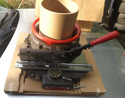Ideal Number 4 Stencil Machine New In Box