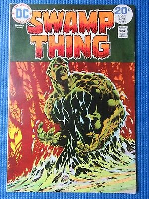 Swamp Thing # 9 - (Nm-) - High Grade - The Stalker From Beyond - Wrightson