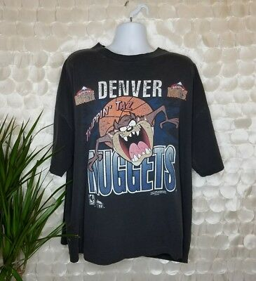 1995 Vintage NBA Looney tunes Taz x Denver Nuggets Graphic tee Sz 4XL /HC