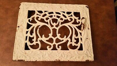 Antique Cast Iron Heat Grate wall register