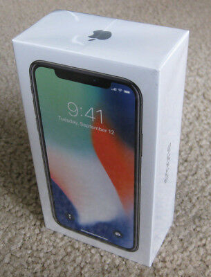 Brand New Sealed Apple iPhone X - 64GB - Silver for AT&T