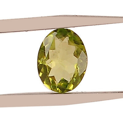 Natural Peridot Excellent Oval Cut 1.50CT Loose Gemstone With Free Certificate