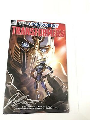 Transformers Comic Signed SDCC