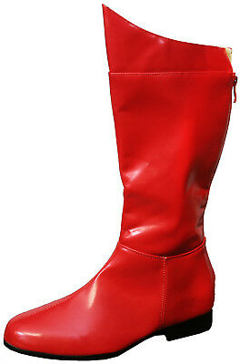 Super Hero Red Adult Boots Costume Accessory