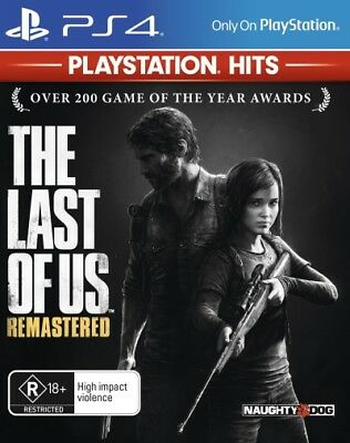The Last of Us Remastered (PlayStation Hits)  - PlayStation 4 game - BRAND NEW