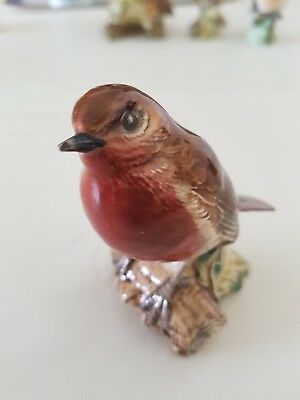 Beswick Rotkehlchen Made in England Form 980 Robin