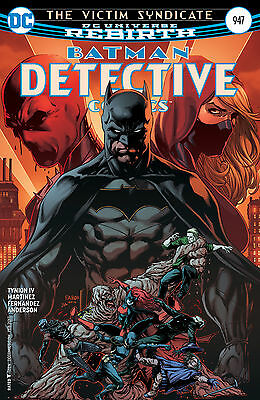 Detective Comics Batman #947 Dc Universe Rebirth 1St Print! Hot! New Vf/nm