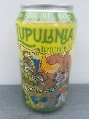 CRAFT MICRO Beer Can Full Tilt Brewing Baltimore, MD Lupulinia Unfiltered IPA