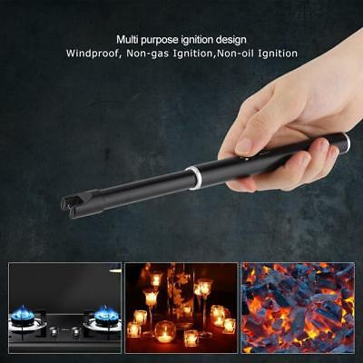 Electric Flameless Cigarette Lighter Arc Pulse Rechargeable USB Kitchen Candles