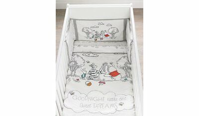 George Disney Winnie The Pooh Bumper Cot & Cotbed