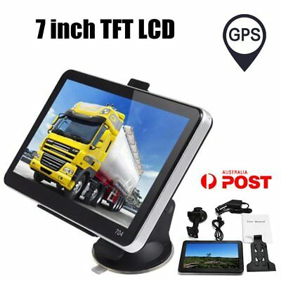 "7"" Inch  Navigation TFT LCD Display  Car Truck Navigator Vehicle SAT NAVVS"