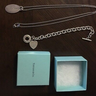 Sterling Silver Jewelry Lot Tiffany & Co