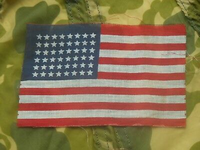Original 2nd Type D-Day Invasion Flag / Unissued Condition