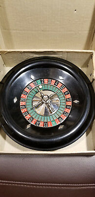 Antique Jeu De Roulette Wheel,8 inch, Made in France, Brevete