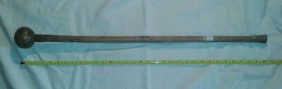Unusual Early 20Th C? African/zulu? Long Wood Knobkerry/knobkerrie. Provenance.