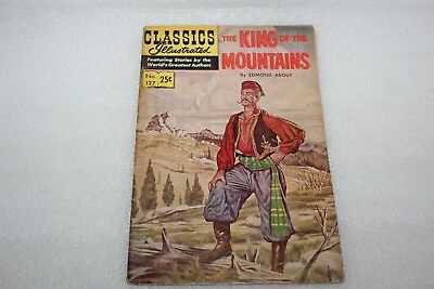 CLASSICS ILLUSTRATED COMIC No 127 THE KING OF THE MOUNTAINS 1968