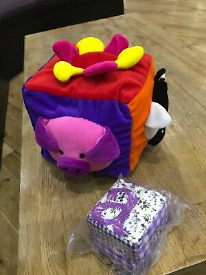 Baby Soft Toy 2 Cubes