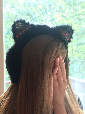 Justice Cat Style Ear Muffs - Tribal Design
