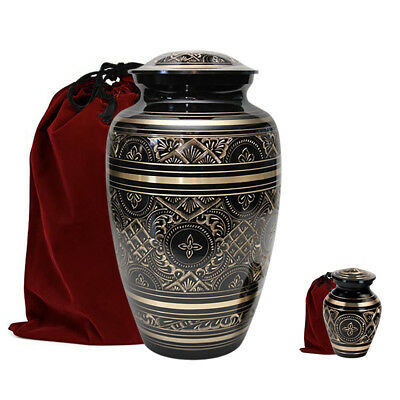 Adult Cremation Urn, W/free Keepsake And Travel Bags. ****ships Same Day****