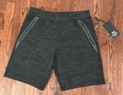 Nwt$39 Men's 90 Degrees By Reflex Performance Shorts W/ Zippered Pockets M & L