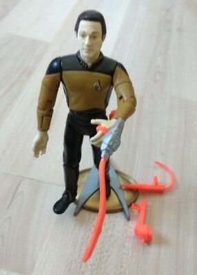 star trek actionfigur 1992 - Lt.Com. Data Playmates Aktion Zubehör Waffen
