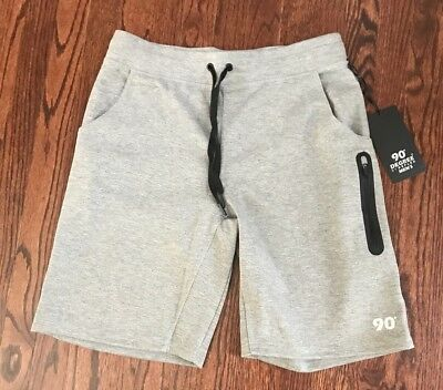Nwt$58 Men's 90 Degrees By Reflex Performance Shorts W/ Zippered Pockets M,l &xl