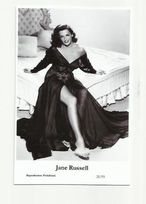(N299) Jane Russell Swiftsure (21/93) Photo Postcard Film Star Pin Up Glamour