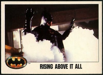 Rising Above It All #36 Batman 1989 Topps Trade Card (C1367)