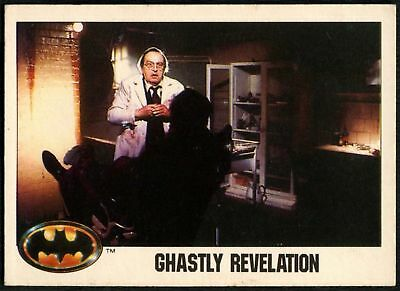 Ghastly Revelation #39 Batman 1989 Topps Trade Card (C1367)