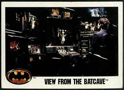 View From The Batcave #25 Batman 1989 Topps Trade Card (C1367A)