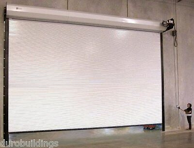 DuroSTEEL JANUS 18'W x14'H Commercial 2500 Series Heavy Duty Rollup Door DiRECT