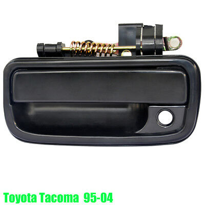 Tacoma 95-04 Black Left Outside Outer Exterior Front Door Handle Toyota