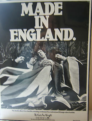 THE WHO  Promo material  for THE KIDS ARE ALRIGHT - MADE IN ENGLAND