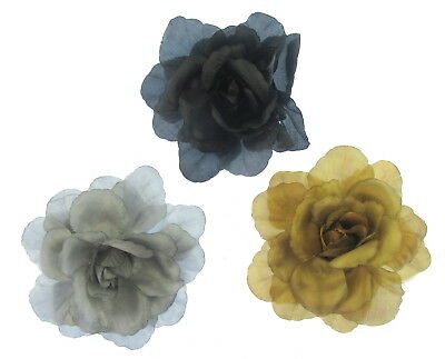 Giant Hair flower clip and pin  15cm weddings, party