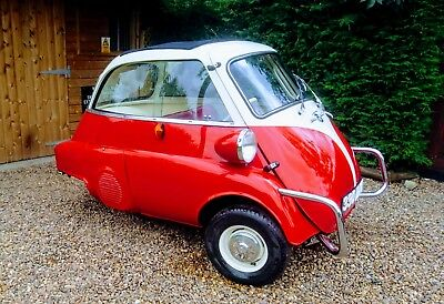 BMW Isetta one previous owner 19,863 miles from brand new RHD stunning car