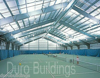 DuroBEAM Steel 100x300x25 Metal Rigid Frame ClearSpan Building Structure DiRECT