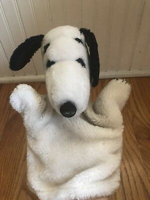 Vintage Snoopy Puppet