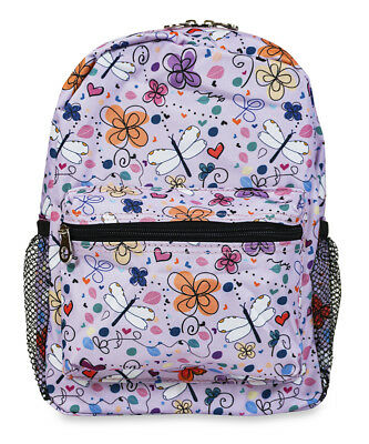 Jenzys Girls Butterfly Mini Toddler Backpack Bag For Preschool or Kindergarten
