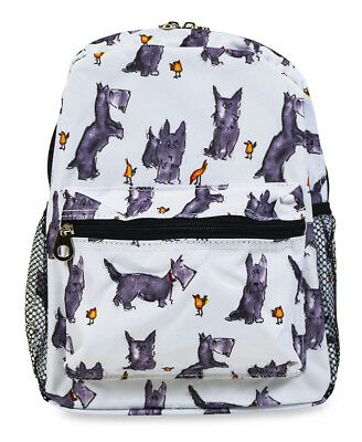 Jenzys Girls Scottish Terrier Scotty Dog Mini Toddler Backpack Bag For Preschool