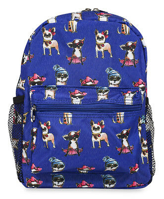 Jenzys Girls Fashion Dog Mini Toddler Backpack Bag For Preschool