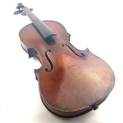 Antique 4/4 Violin Labelled Antonius Stradivarius 1721 With Case and Bow
