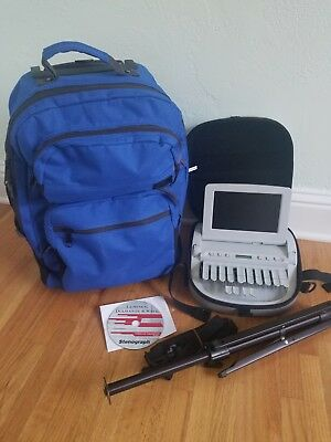 Stenograph Student Wave Writer with accessories EXCELLENT condition