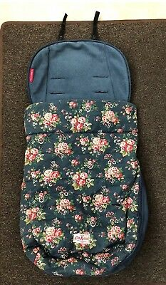 Cath Kidston MacLaren Universal Fitting Floral Cosy Toes Footmuff Pram Buggy