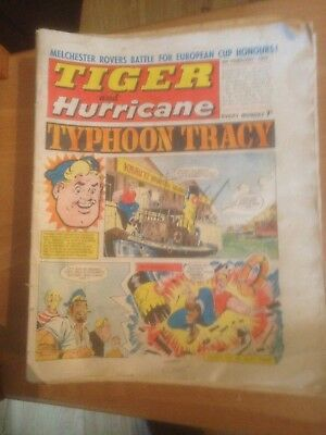 Tiger Comics 1969 41 Issues Good Condition Includes Roy of the Rovers